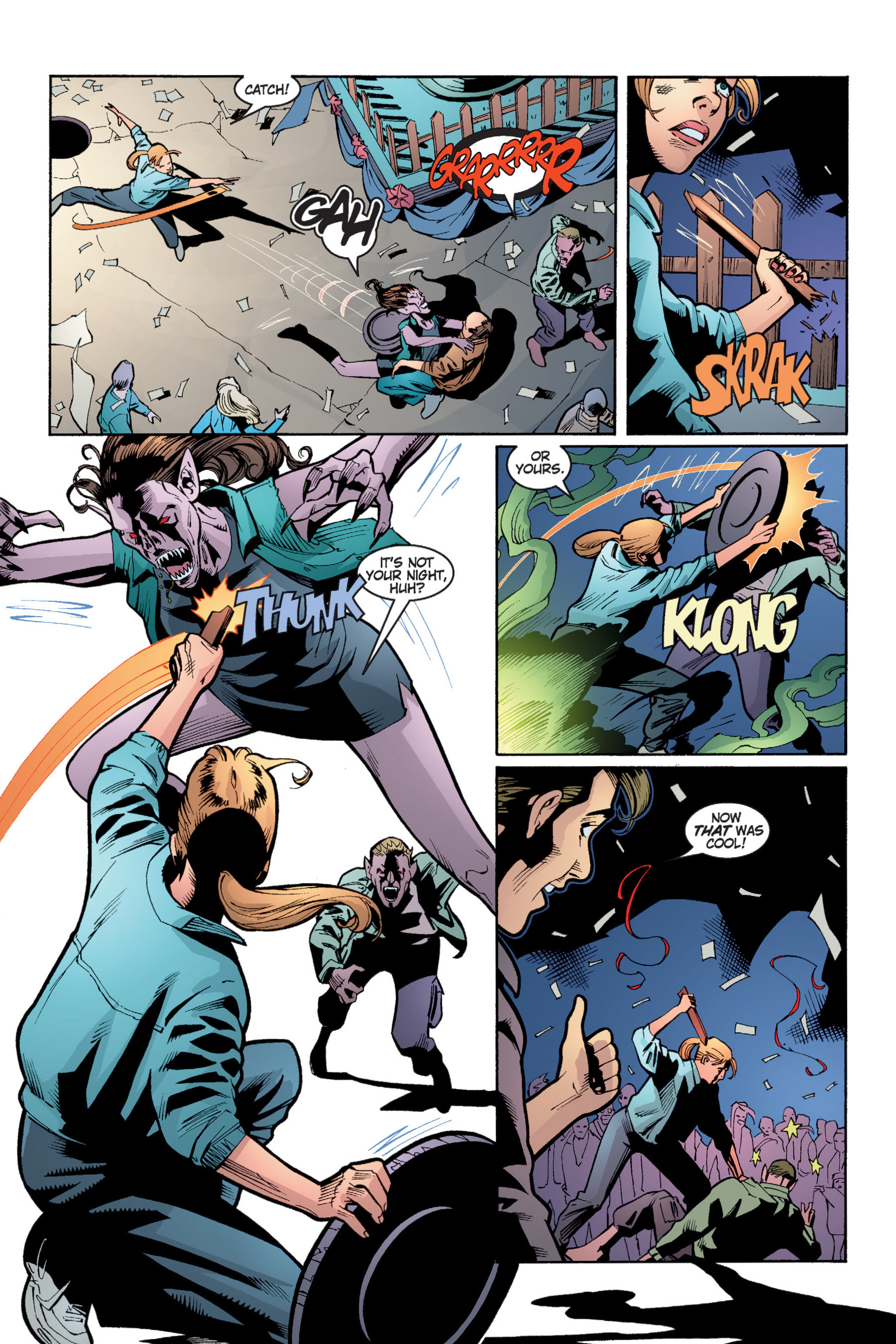 Read online Buffy the Vampire Slayer: Omnibus comic -  Issue # TPB 4 - 197
