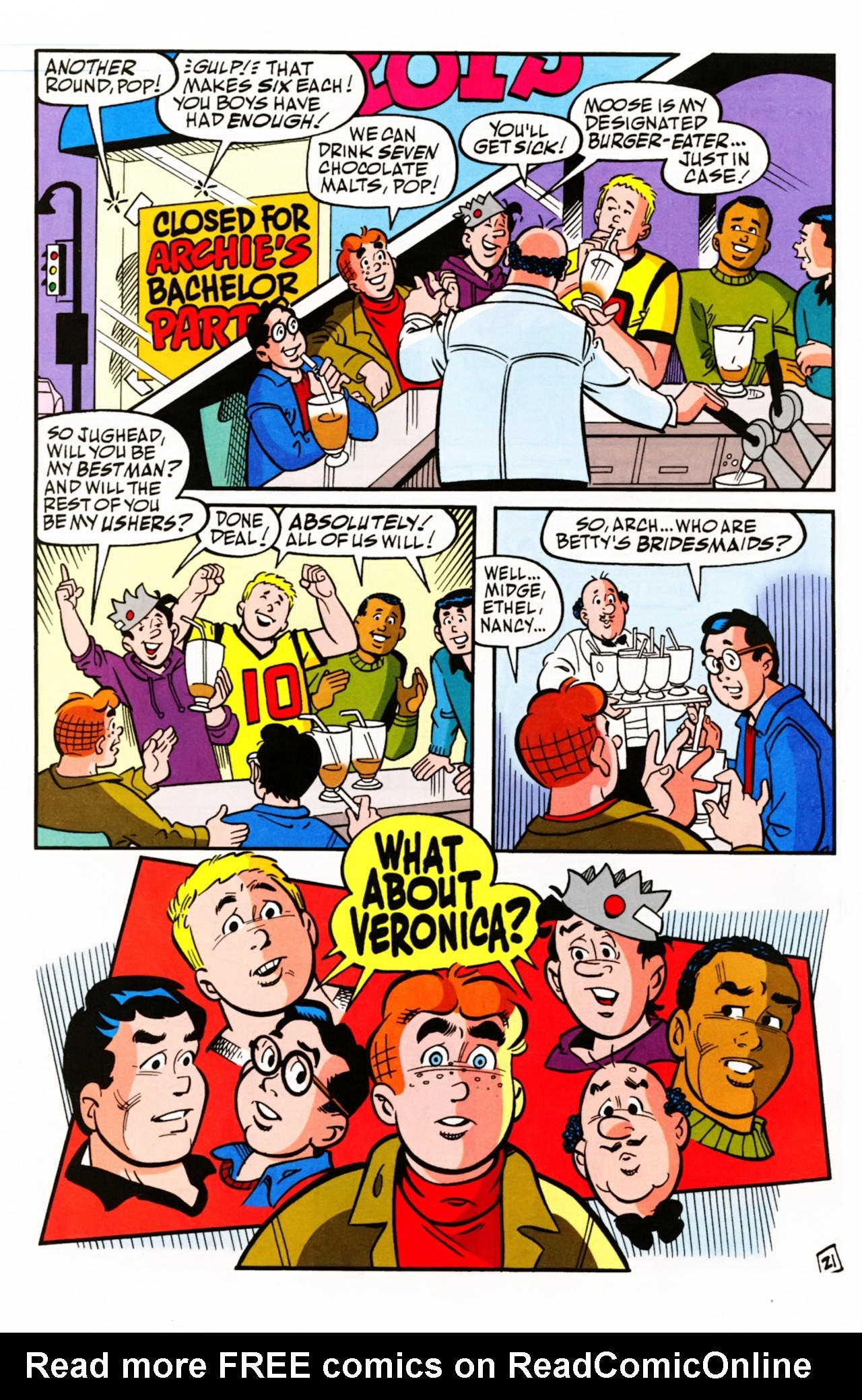 Read online Archie (1960) comic -  Issue #603 - 29