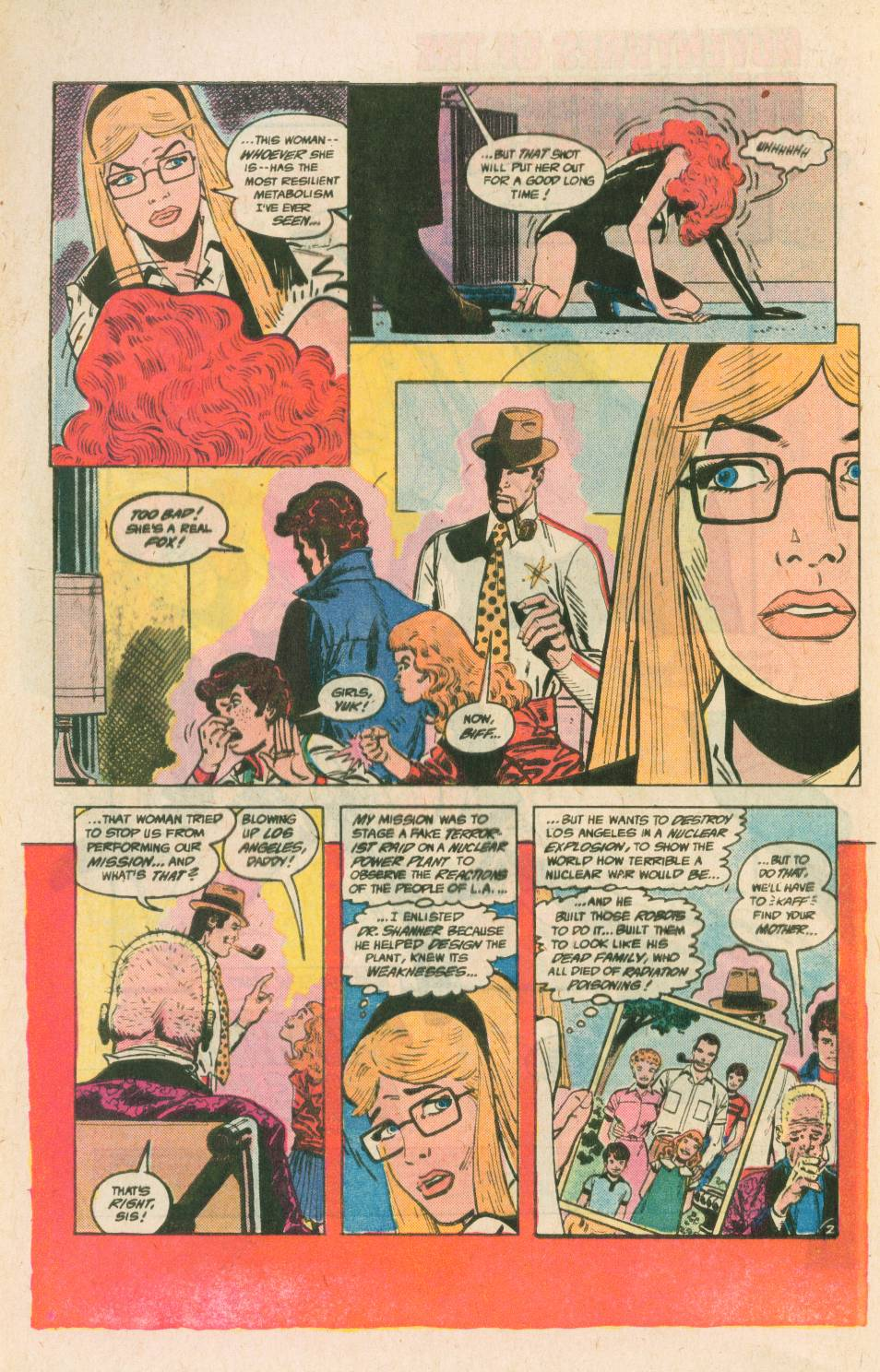 Read online Adventures of the Outsiders comic -  Issue #40 - 3