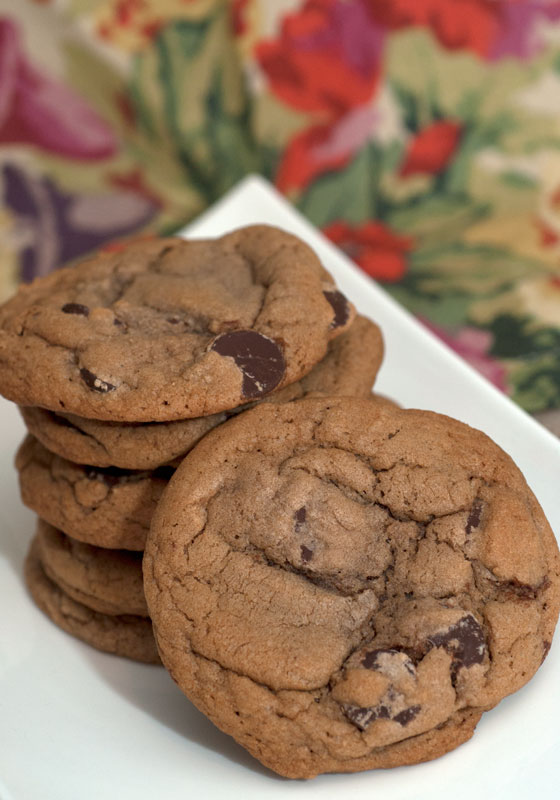 Sugar & Spice by Celeste: Nutella Chocolate Chip Cookies