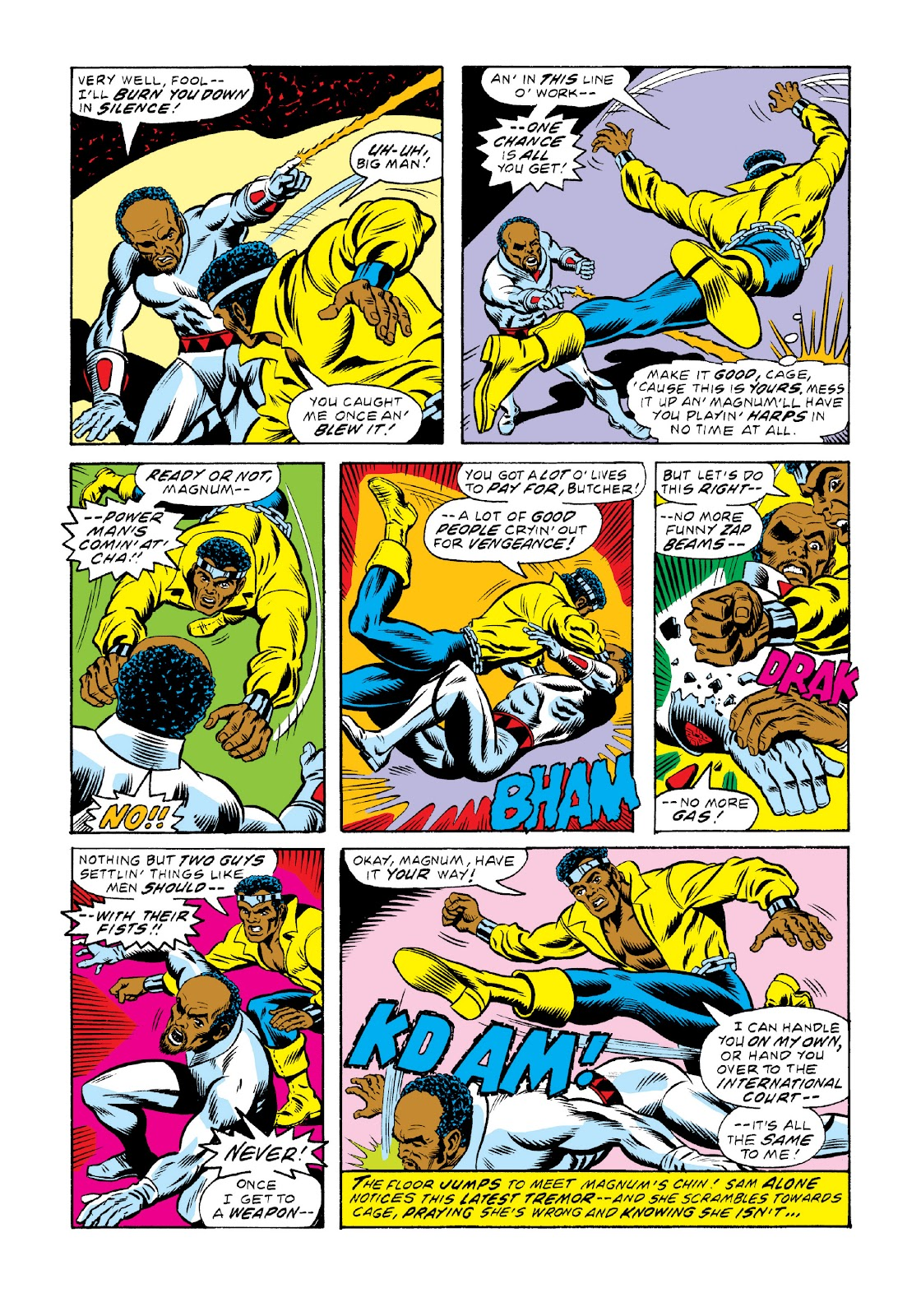 Read online Marvel Masterworks: Luke Cage, Power Man comic -  Issue # TPB 3 (Part 2) - 13