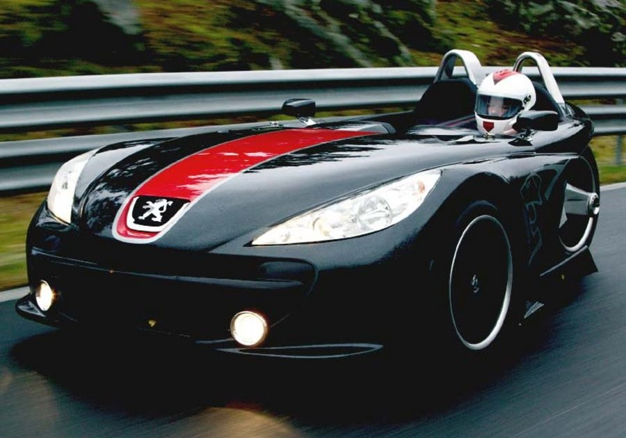 Three Wheeled Cars: 2005 Peugeot 20Cup Three Wheeled Car