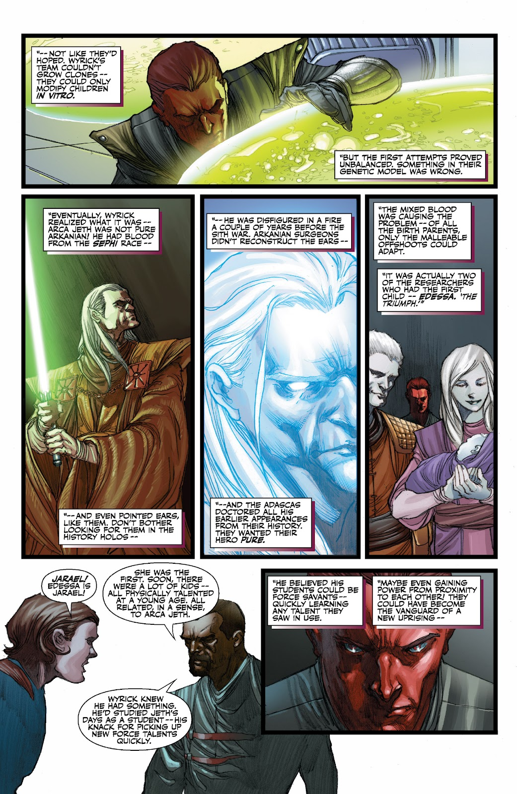 Read online Star Wars Legends: The Old Republic - Epic Collection comic -  Issue # TPB 3 (Part 3) - 44