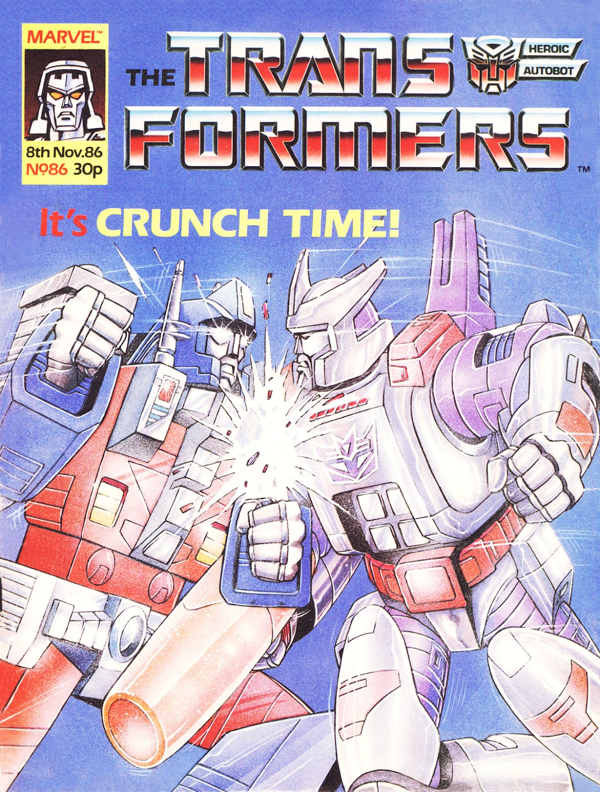 The Transformers (UK) 86 Page 1