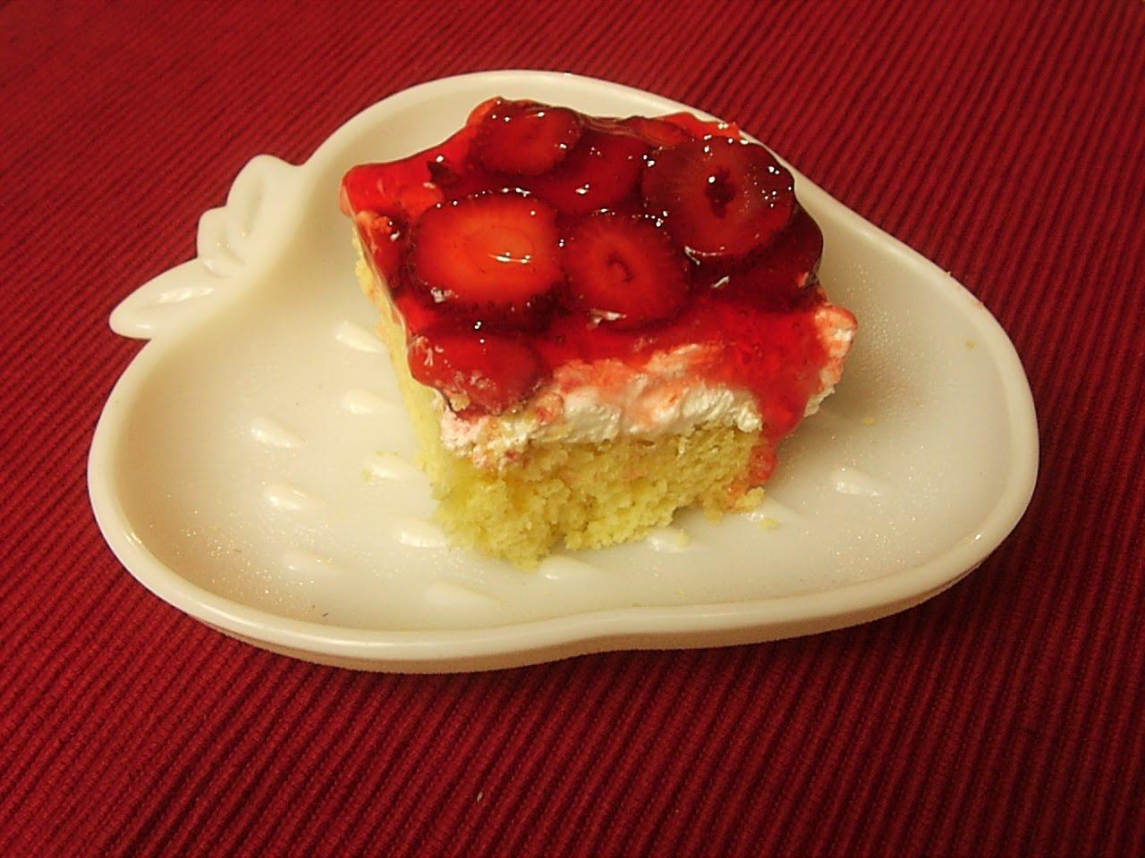 Layered Dessert Recipes With Cake Mix: Stirring It Up With Pam: Strawberry Layered Dessert