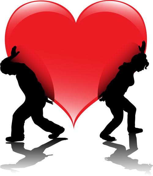 خلفيات قلوب للعشاق 2016 بطاقات LoveHeartVectorsPeop