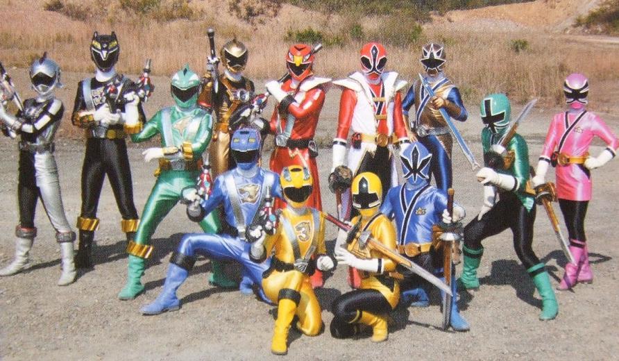 Super Sentai Team Up Henshin and Roll Call - YouTube