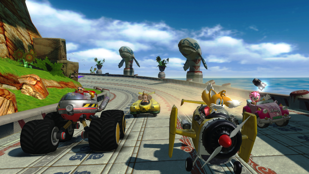 Zoom Zoom! - Sonic & Sega All-Stars Racing