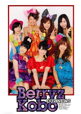 Berryz Koubou in MewMew Magazine
