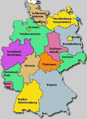 Regions Of Germany Map.Germany Map Regions Marcy Power Tower