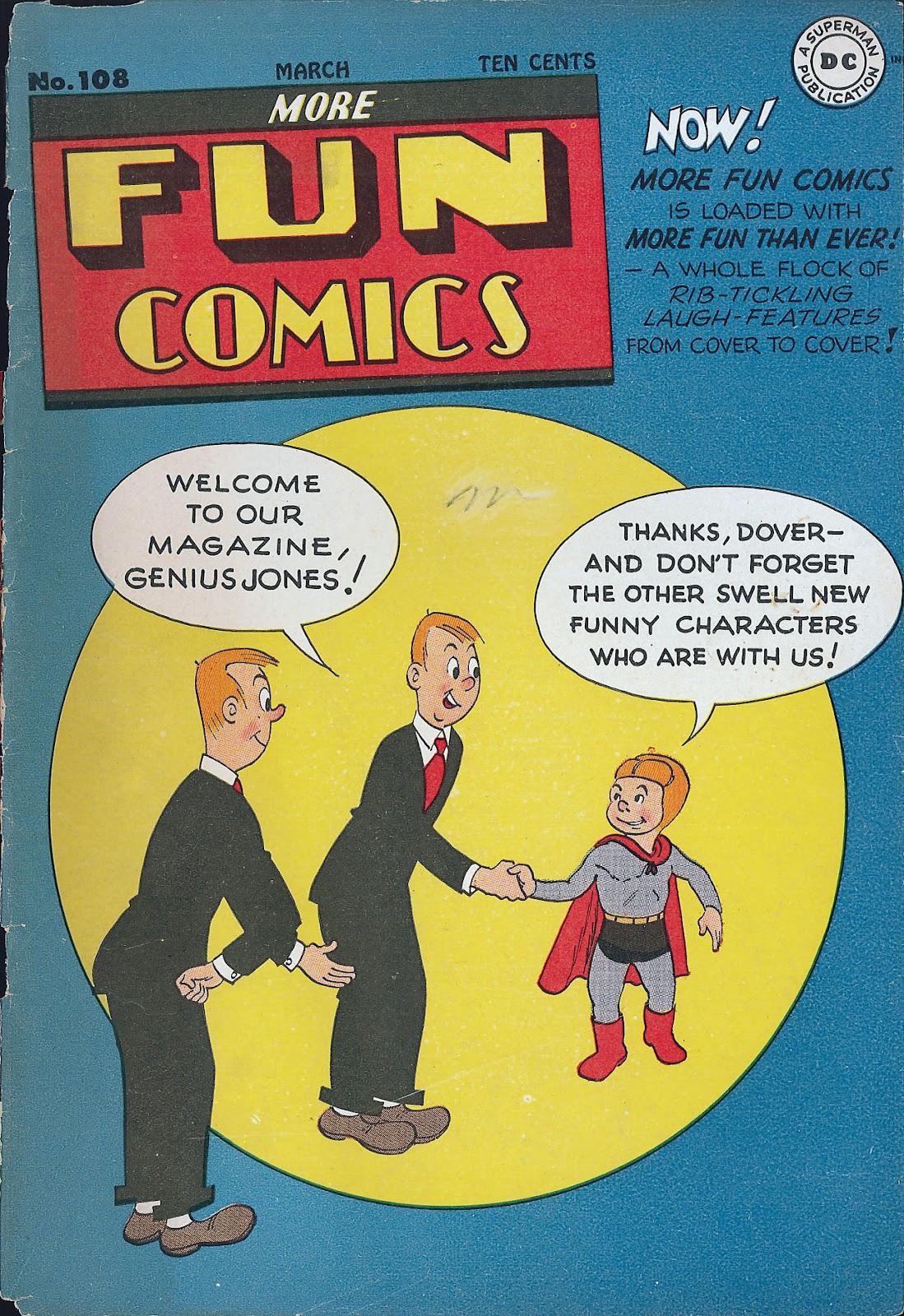 More Fun Comics 108 Page 1