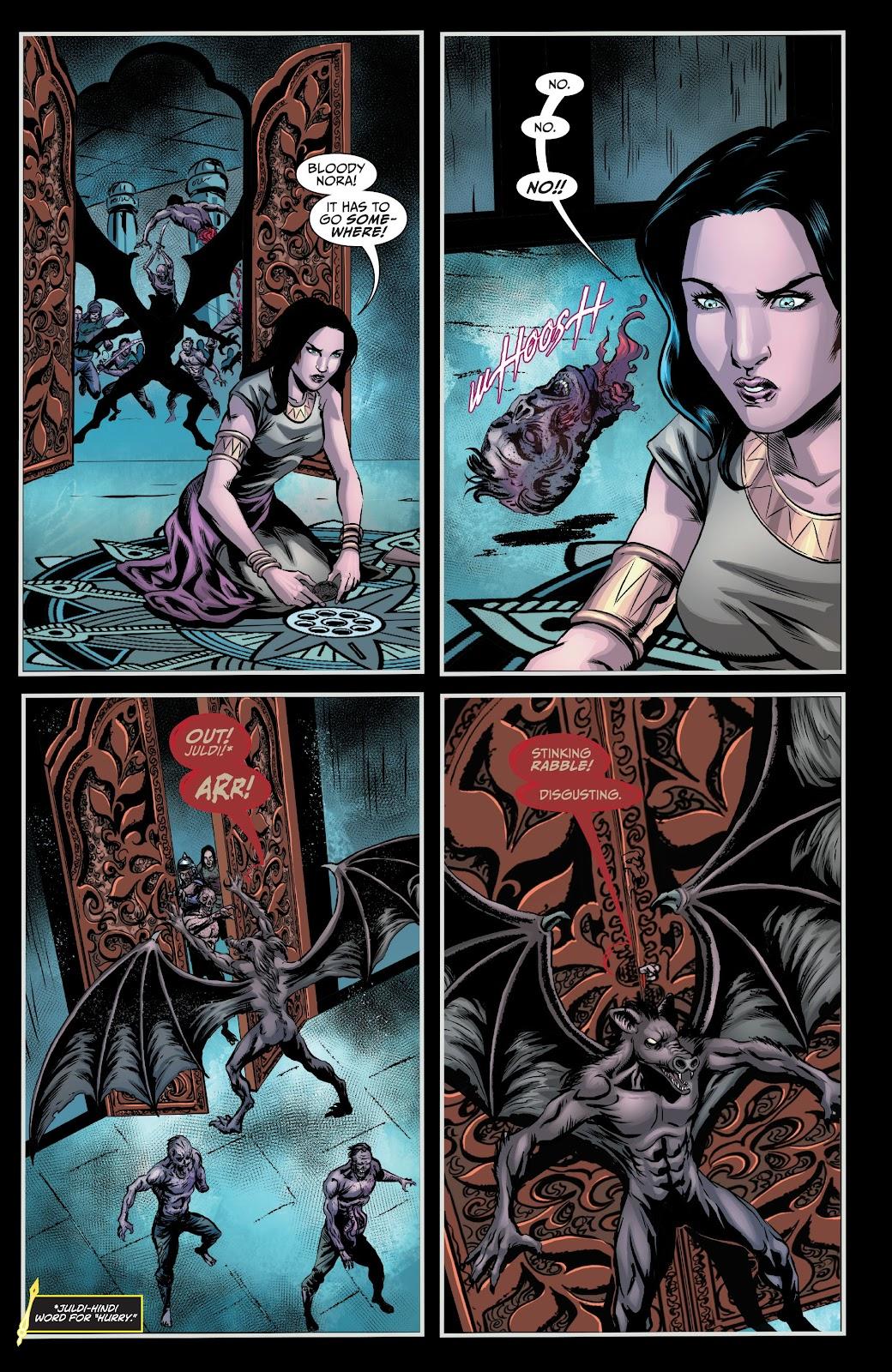 Read online Van Helsing: Sword of Heaven comic -  Issue #6 - 18