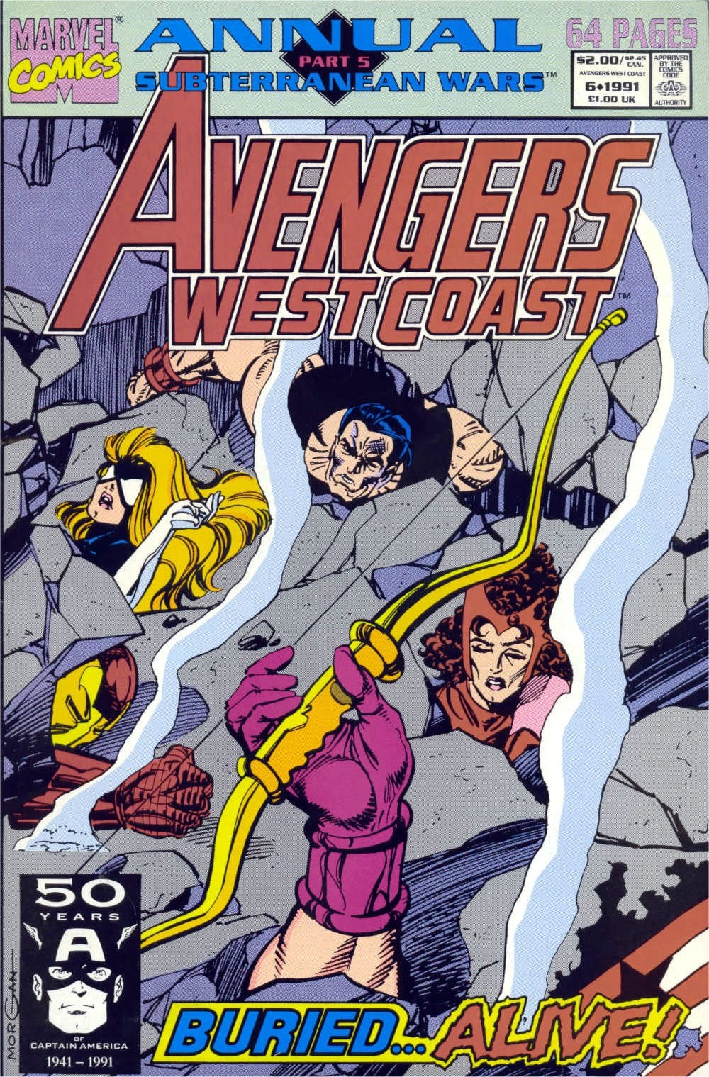 Avengers West Coast (1989) Annual_6 Page 1