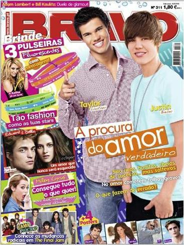 d92438dedf Bom tenho aqui alguns exemplos de revistas a seguir  A BRAVO para  adolescentes.