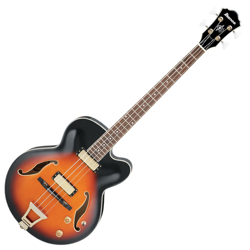 bass guitar ibanez afb200 fretless semi hollow bass. Black Bedroom Furniture Sets. Home Design Ideas