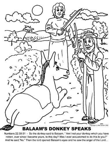 Mewarnai Gambar Cerita Alkitab O Warna