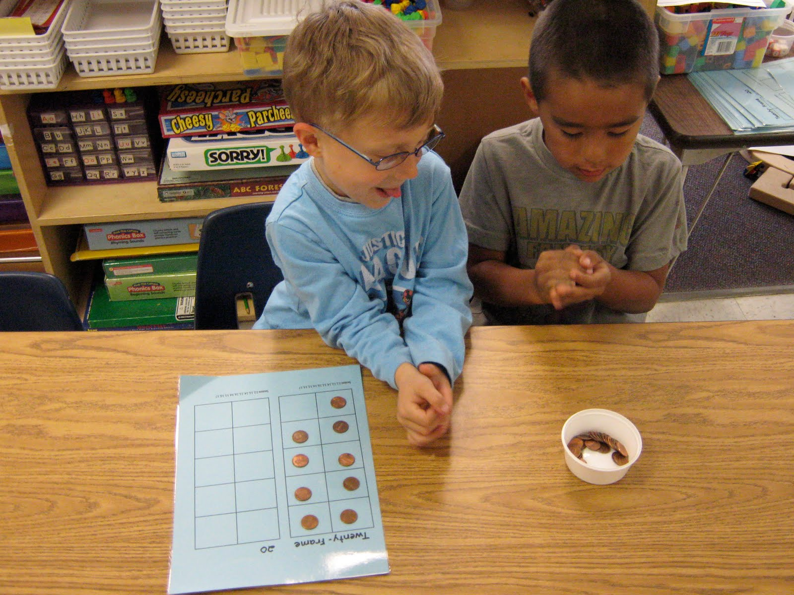 Kindergarten News Math This Week