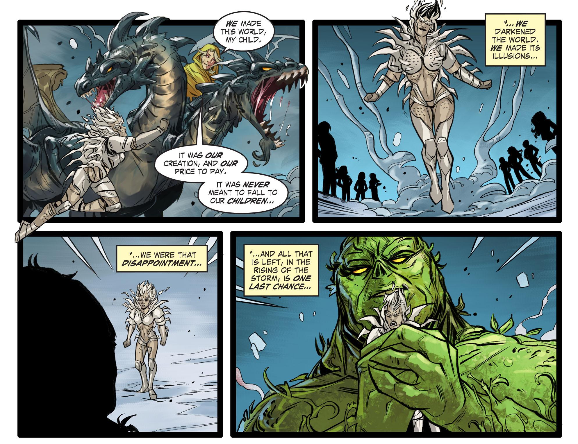 Read online DC Comics: Bombshells comic -  Issue #99 - 12