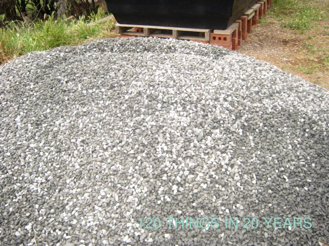 How Much Is A Ton Of Gravel >> 120 things in 20 years: Aquaponics - Gravel