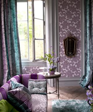 El retorno del papel tapiz  Casa Haus Decoracin