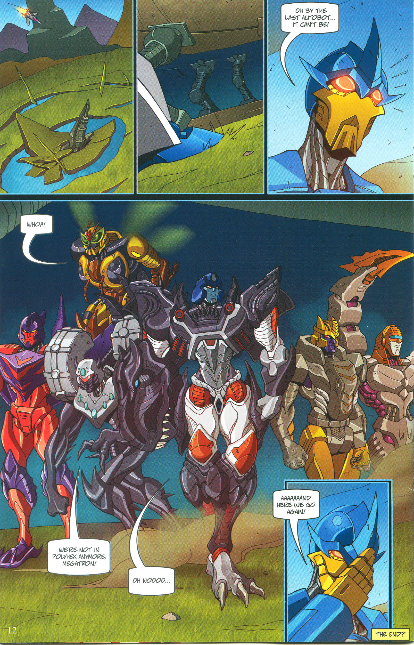 Read online Transformers: Collectors' Club comic -  Issue #54 - 12