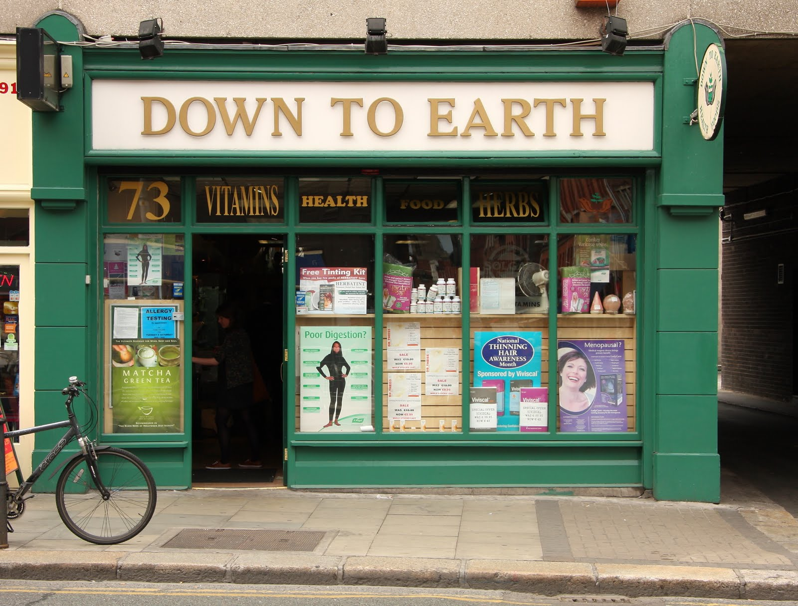 Survival Guide: Dublin with Food Allergies: Down To Earth ...