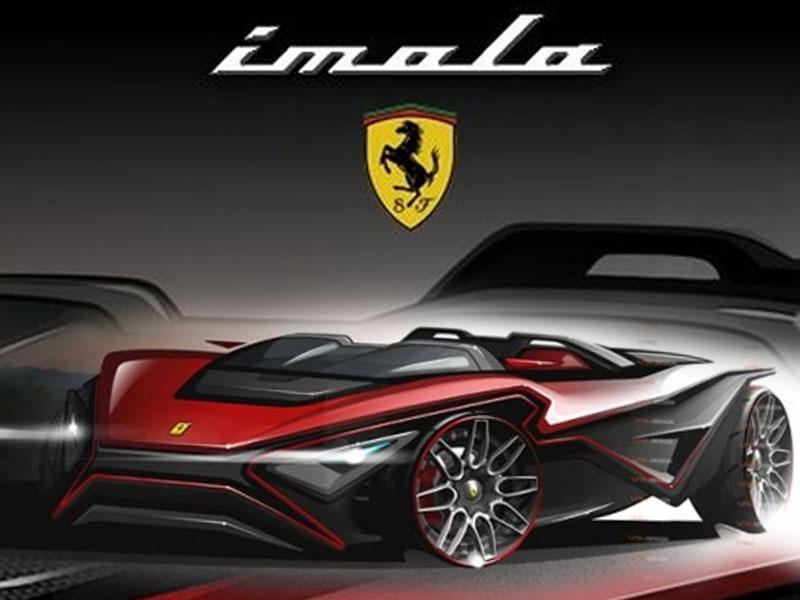 New Model Ferrari Imola Sport Car Modern Interior Design