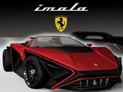 Supercar Imola Ferrari Sports Car Concept By John Mark Vicente