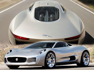 The C X75 Concept Cars Is Both A Celebration Of 75 Years Of Iconic Jaguar  Design And A Look Into The Future Of Automotive Technology.