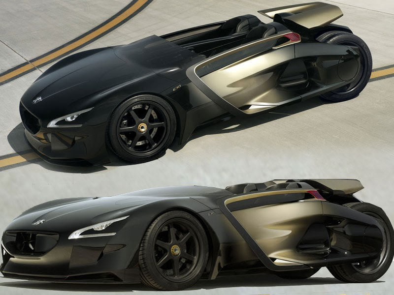 Popular Automotive 2011 Peugeot Ex1 Abstraction Is An Electric Sport Cars Abstraction The Extreme Dream Car