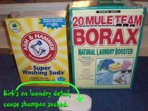 Pretty much any soap is suitable for laundry use, however, some soaps are so GOOD or so EXPENSIVE that it would silly to buy them for laundry.