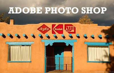 photo of a real adobe photo shop