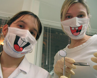 scary dental masks