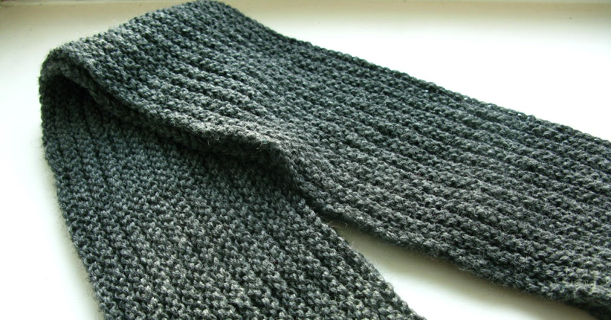 Knitting Pattern Notation : littletheorem: Ingram Scarf