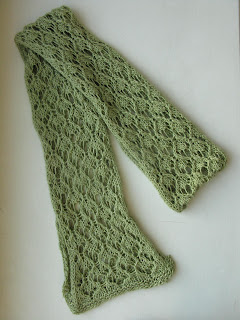 free lace scarf knitting pattern