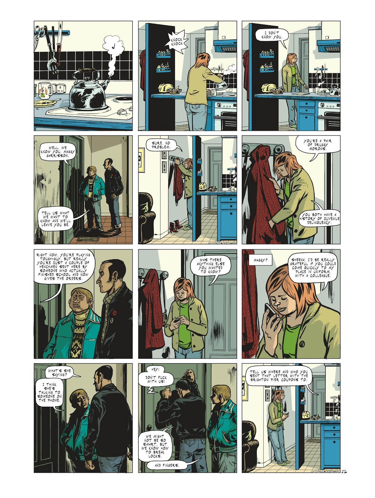 Read online Maggy Garrisson comic -  Issue #1 - 24