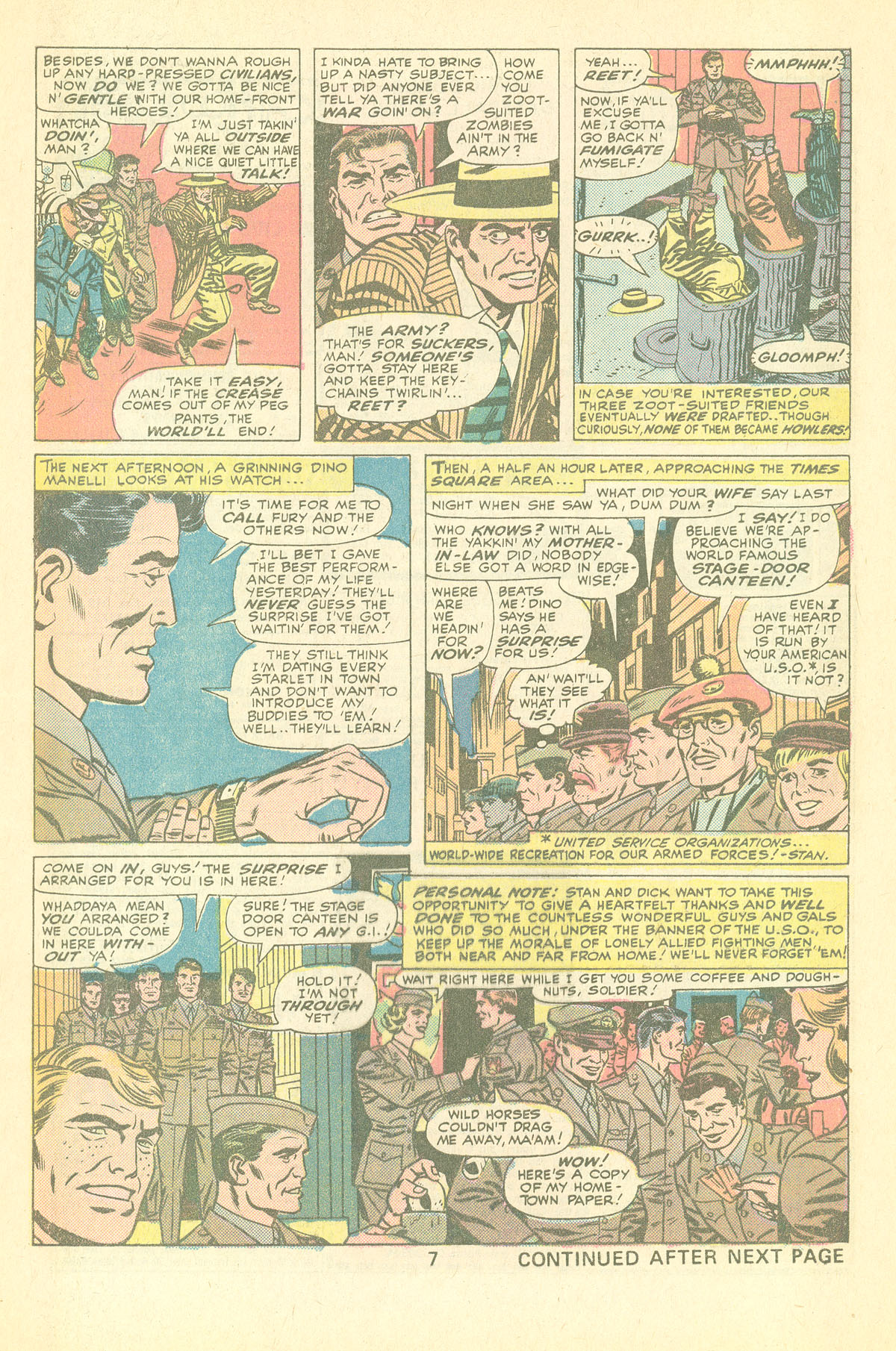Read online Sgt. Fury comic -  Issue #126 - 9