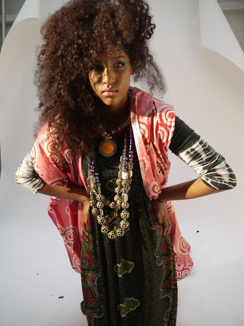 modern day afro hippie chic  Hairstyles