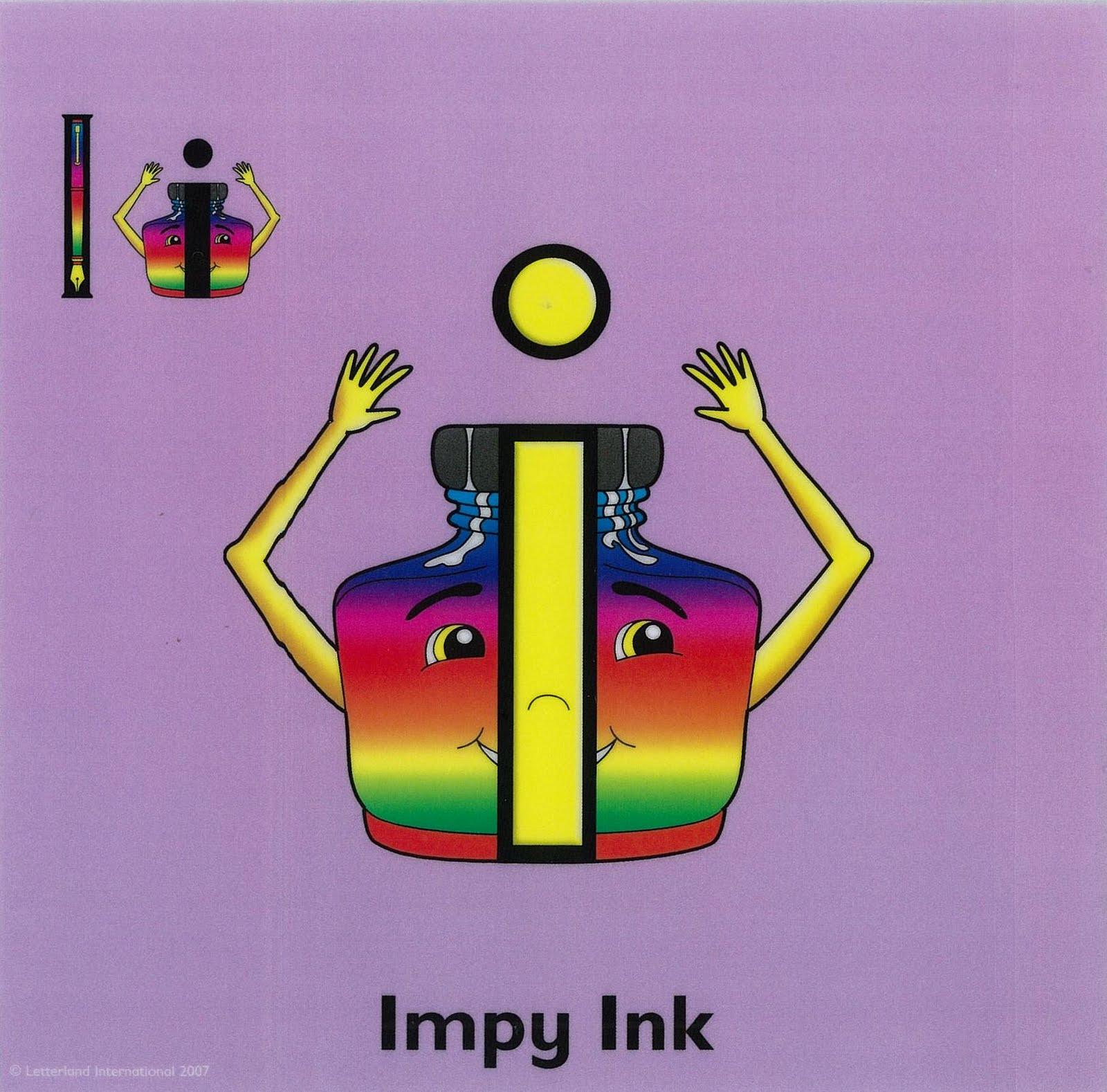 Impy Ink Letterland