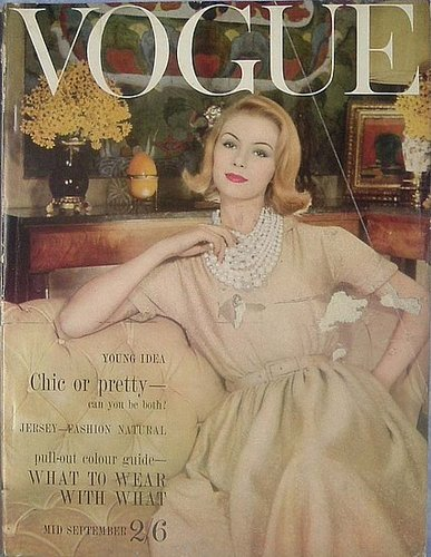 an eye for vintage: Vintage 1960s VOGUE Magazine Covers