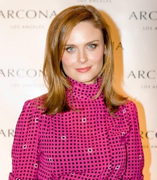 beauty girl musings: Emily Deschanel at Arcona Launch ...