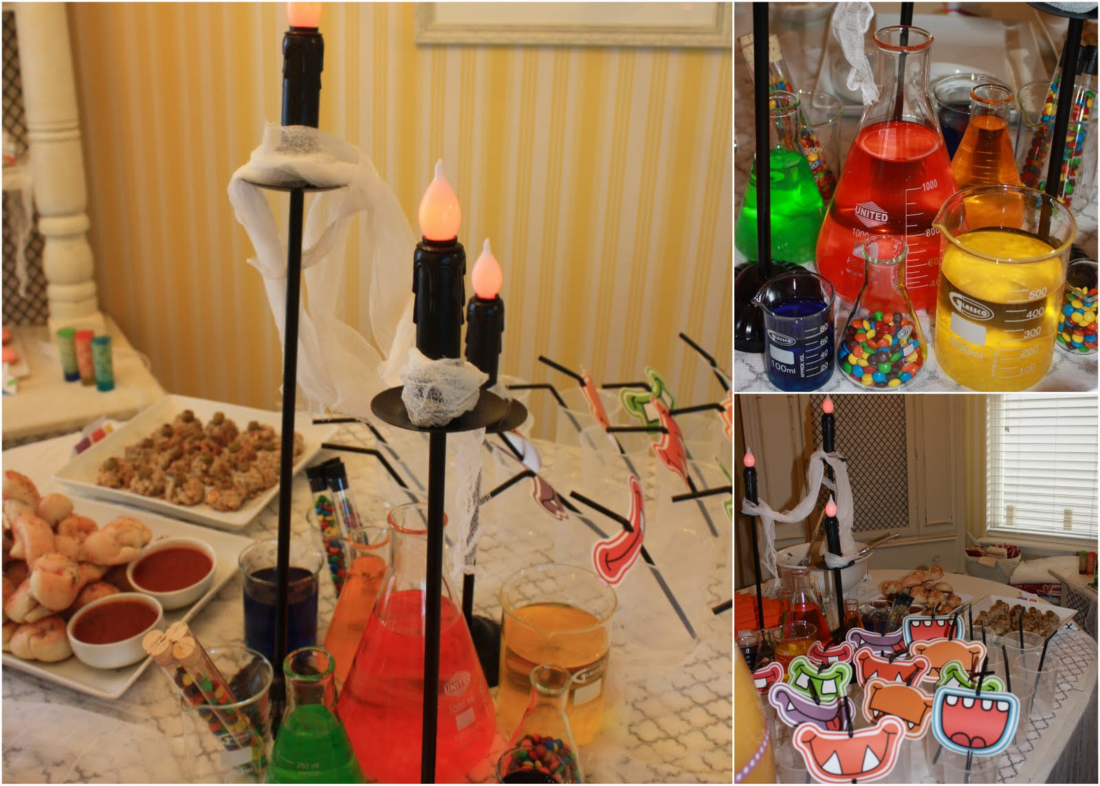 Pinwhirl Parties You Are Invited To Our Monster Laboratory