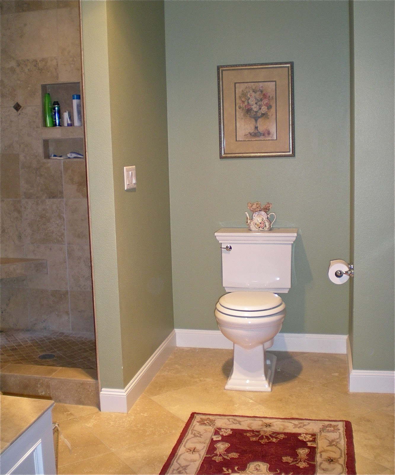 What Is The Best Paint To Use In A Bathroom: Elegant Vintage Master Bathroom Makeover