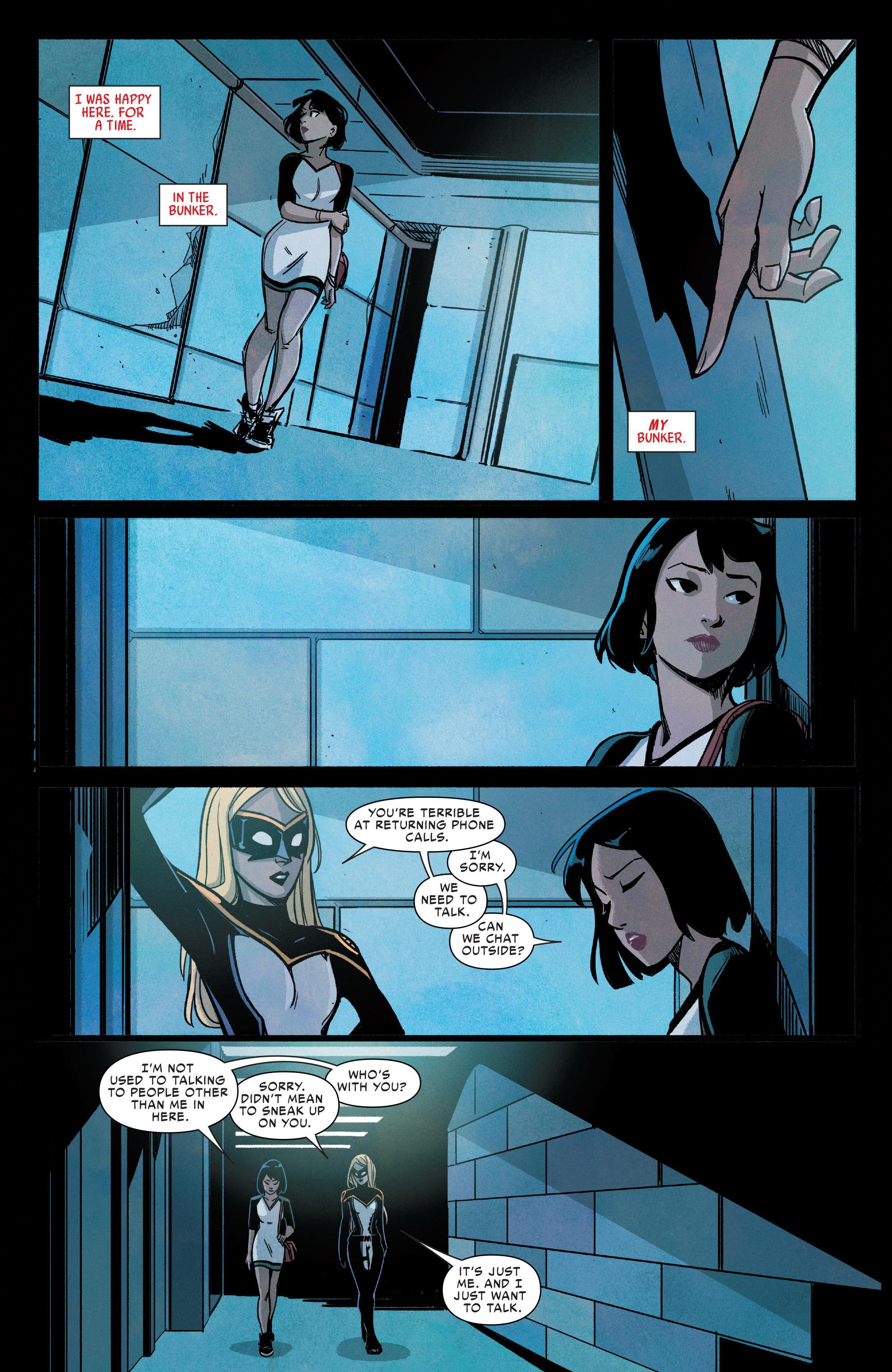 Read online Silk (2016) comic -  Issue #9 - 17