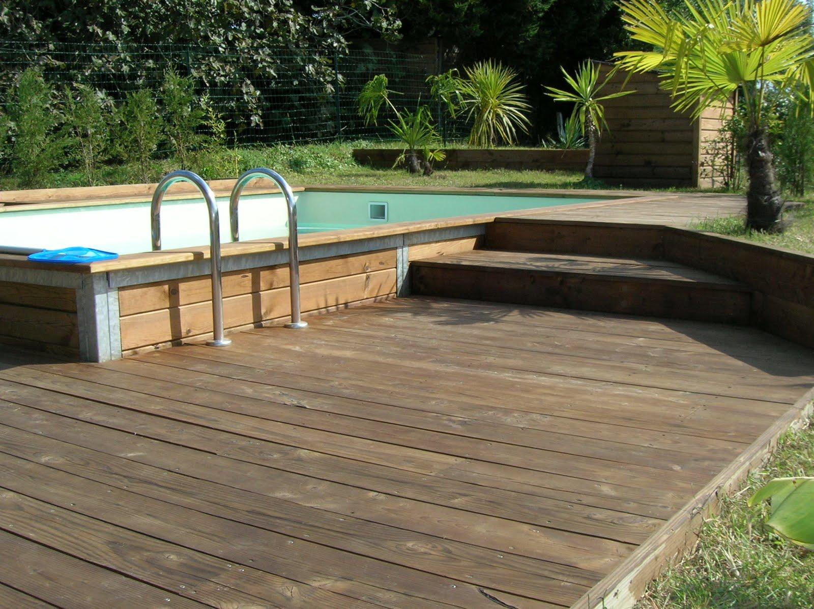 conseils professionnels pour monter votre piscine terrasse bois. Black Bedroom Furniture Sets. Home Design Ideas