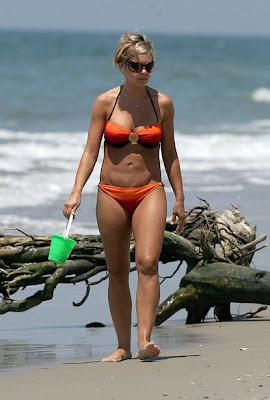 Kate Gosselin Orange Bikini 73