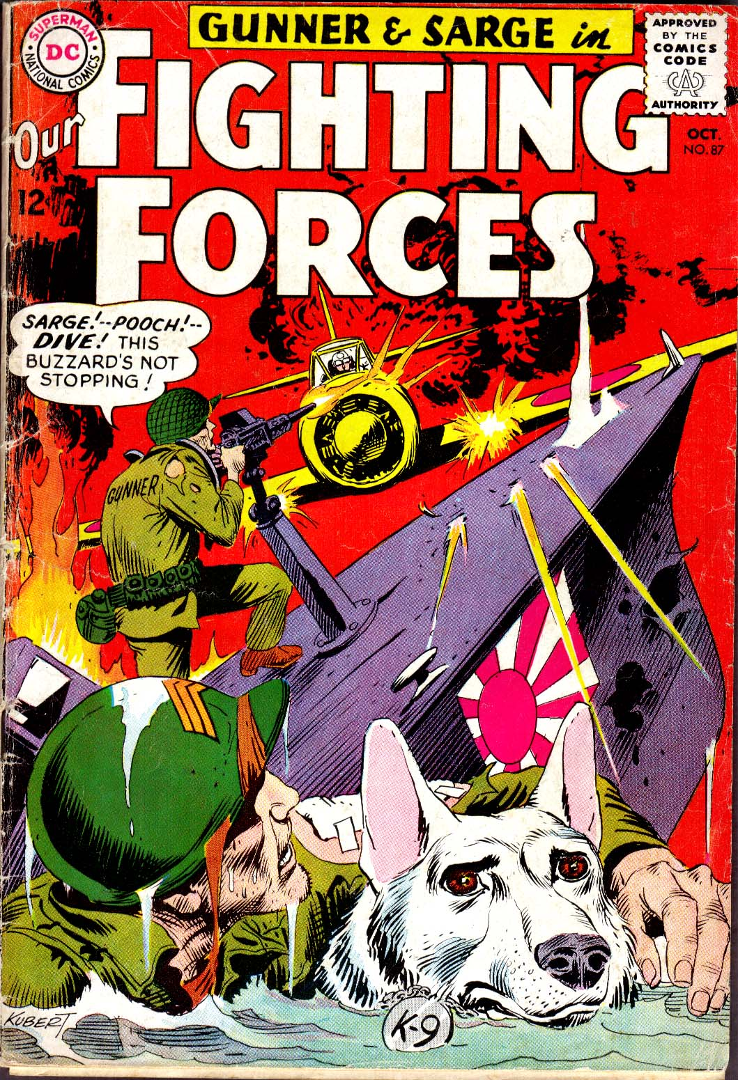 Our Fighting Forces (1954) issue 87 - Page 1