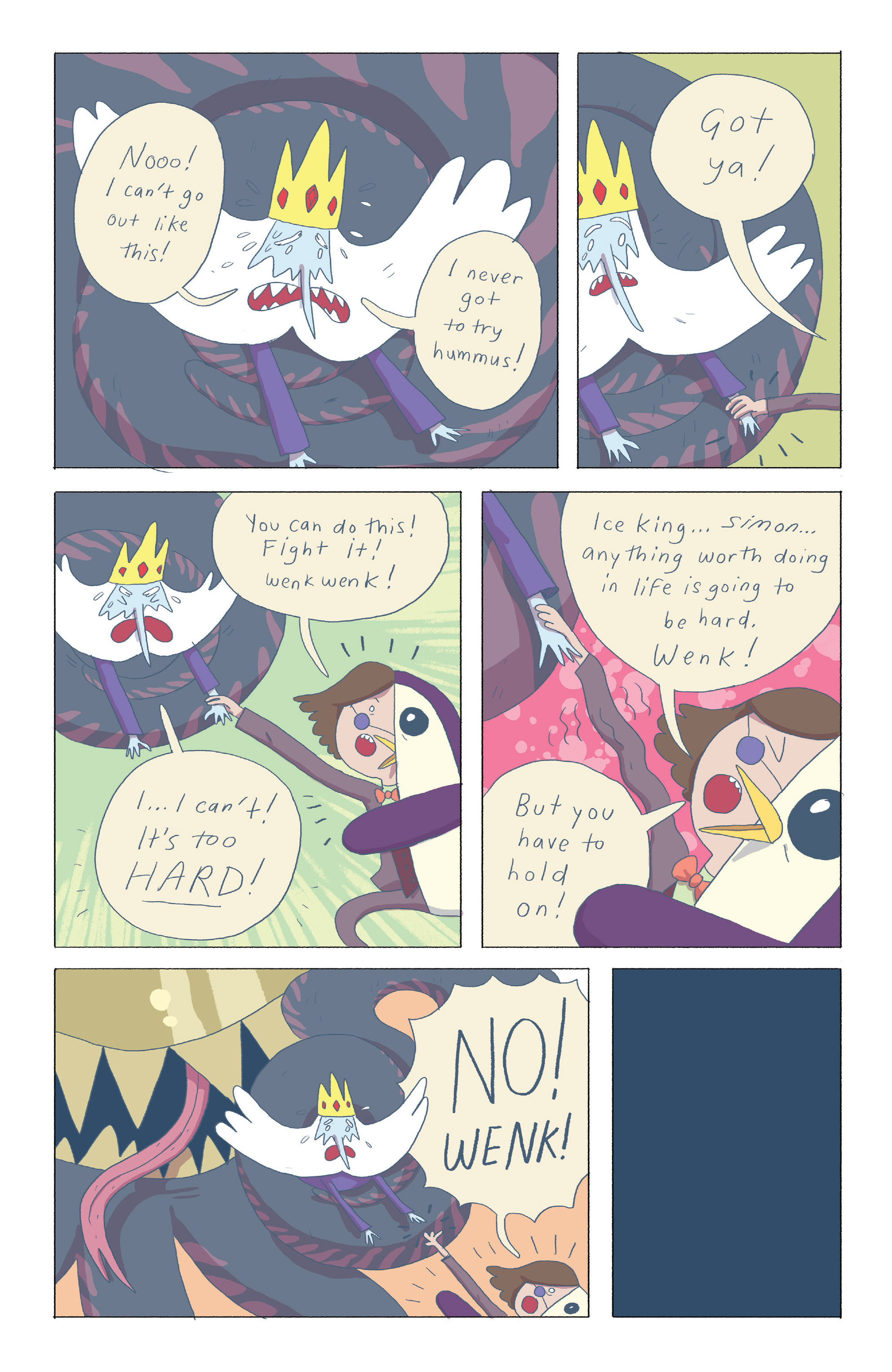 Read online Adventure Time: Ice King comic -  Issue #4 - 16