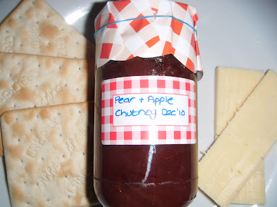 Homemade Apple & Pear Chutney
