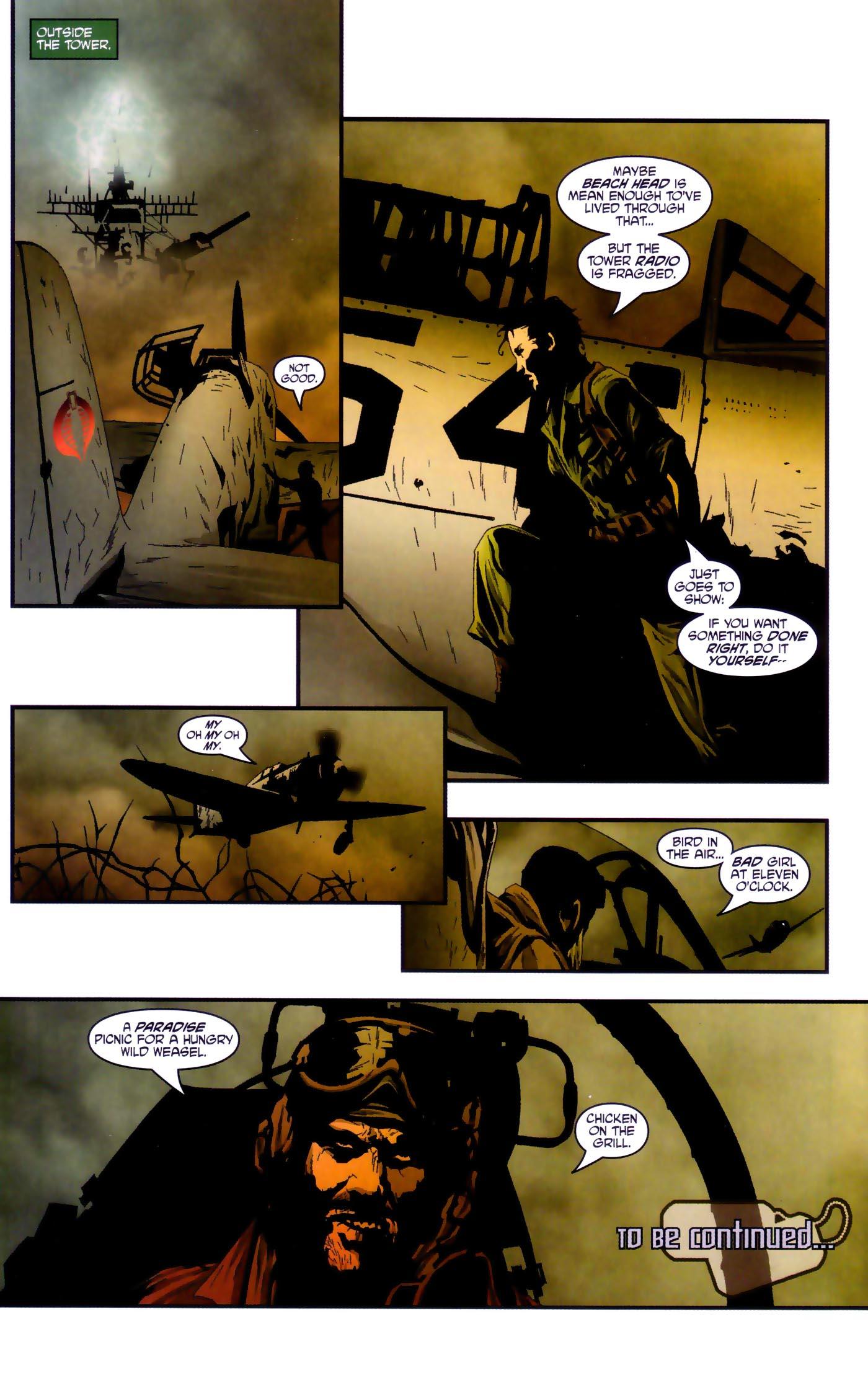 Read online Transformers/G.I. Joe comic -  Issue #4 - 22